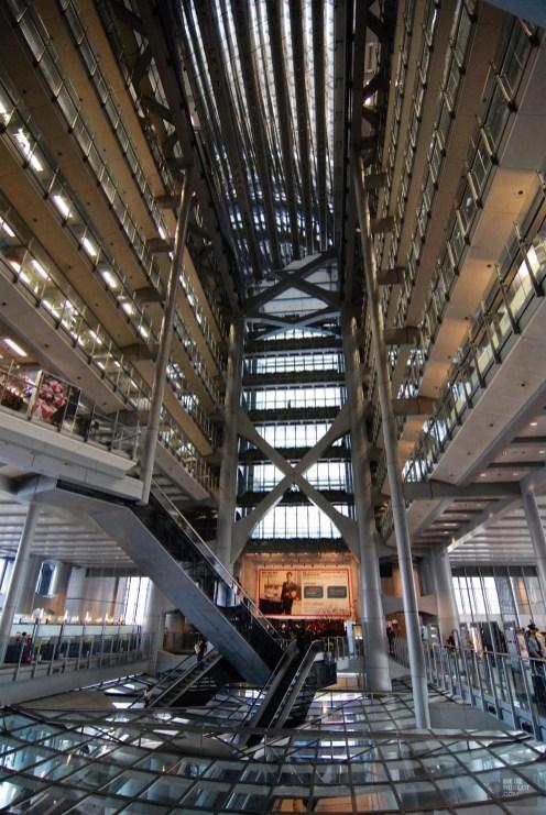 Intérieur de la Shangai Bank - Architecture - Séjour à Hong Kong - Asie, Chine
