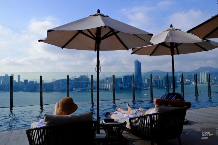 Piscine sur le toit - Chambre avec vue - Séjour à Hong Kong - Asie, Chine