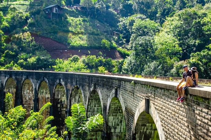 pont neuf arches - The, train et pont - Sri Lanka, au cœur de l ile - Asie, Sri Lanka
