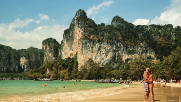 Les amoureux de Railay Beach - Krabi et son unique resort écologique - Asie, Thaïlande