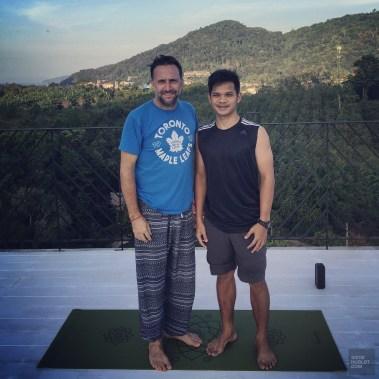 Après une séance - Yoga shala et méditation - Krabi et son unique resort écologique - Asie, Thaïlande