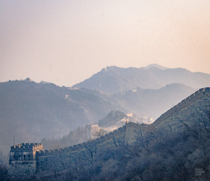 Grande muraille chine 2 - Mutianyu - La Grande Muraille de Chine, un lieu mythique - Asie, Chine