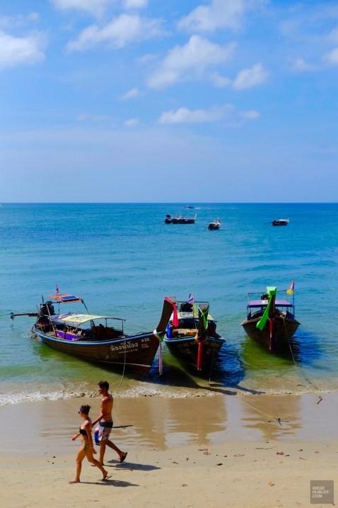 Balade sur la plage - Les Piscines et la Mer - Des vacances à Krabi - Asie, Thaïlande