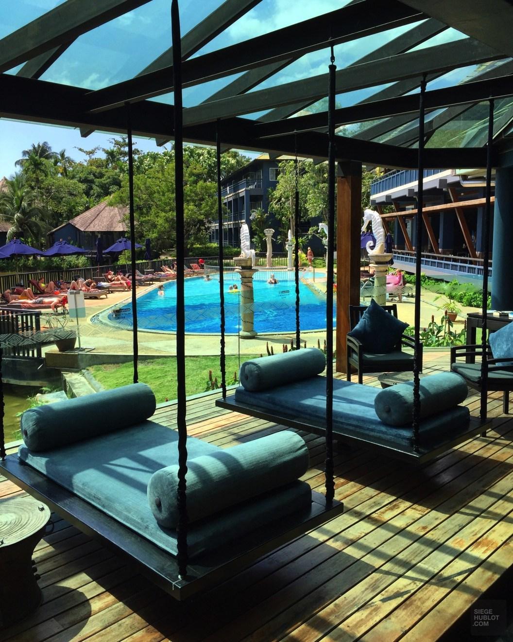Les balançoires du lobby - Les Restaurants et Bar - Des vacances à Krabi - Asie, Thaïlande