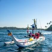 bateau pecheurs - Les baleines de Mirissa - Les plages du Sri Lanka et plus encore - Asie, Sri Lanka