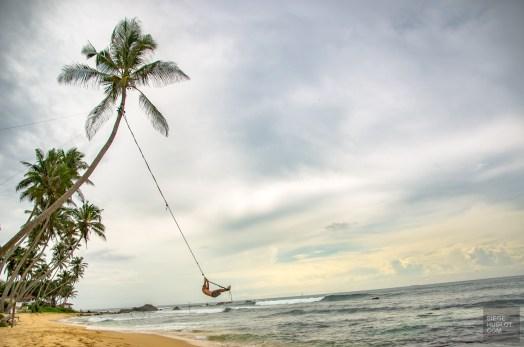 corde a Tarzan - La plage d'Unawatuna et ses environs - Les plages du Sri Lanka et plus encore - Asie, Sri Lanka