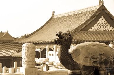 dragon tortue - Beijing - La Grande Muraille de Chine, un lieu mythique - Asie, Chine