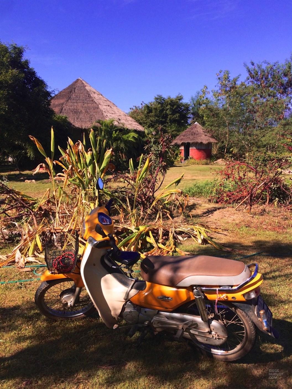 La motocyclette, simple façon de voyager - Province de Mae Hong Son, Thaïlande du Nord - Pai et la fraicheur des montagnes - Asie, Thaïlande