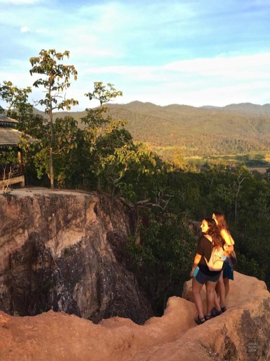 Panorama et coucher de soleil - Les Excursions - Pai et la fraicheur des montagnes - Asie, Thaïlande