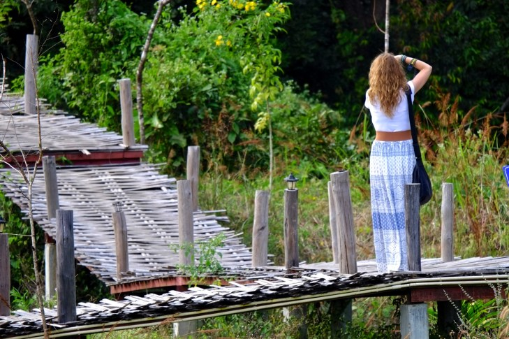 Le pont de bambou - Les Excursions - Pai et la fraicheur des montagnes - Asie, Thaïlande