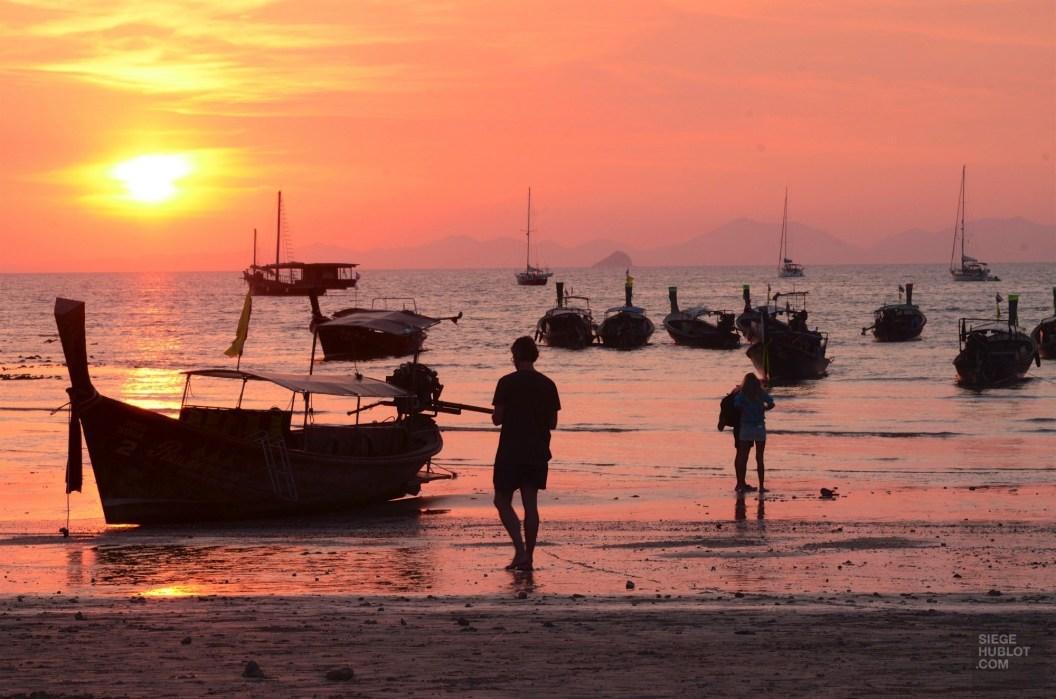 Railay Beach et son coucher de soleil - Les Excursions - Des vacances à Krabi - Asie, Thaïlande