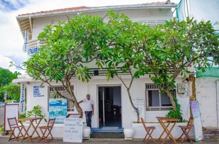 restaurant pieuvre - La ville fortifiee de Galle - Les plages du Sri Lanka et plus encore - Asie, Sri Lanka