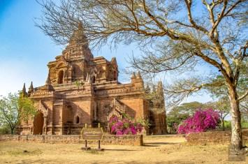 ecriteau - Bagan, capitale de l ancien royaume de Pagan - A la recherche du temple perdu Bagan, Myanmar - Asie, Myanmar