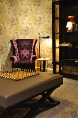 Petit salon près du lobby - The Omni King Edward - 12 Hôtels à Toronto - Amérique du Nord, Canada, Ontario