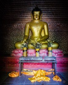 statue Bouddha - Bagan, capitale de l ancien royaume de Pagan - A la recherche du temple perdu Bagan, Myanmar - Asie, Myanmar