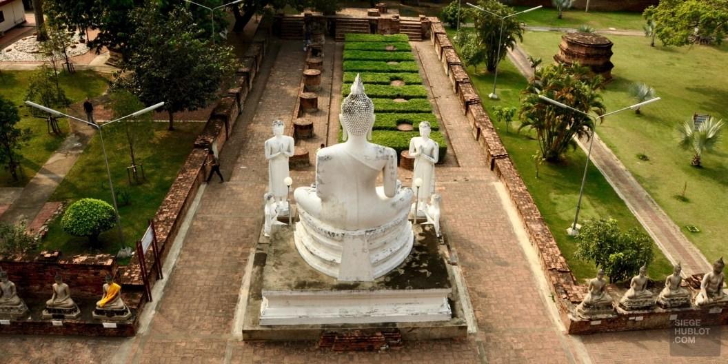 Wat Yai Chai Mongkol - Les Temples (Wat) - Le parc historique d'Ayutthaya - Destination, Asie, Thaïlande