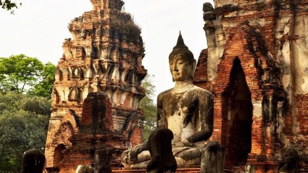 Wat Mahathat - Les Temples (Wat) - Le parc historique d'Ayutthaya - Destination, Asie, Thaïlande