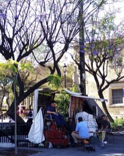 Le cireur de chaussures - Guadalajara, Mexique - Tout ça à Guadalajara - Destination, Amérique du Nord, Mexique