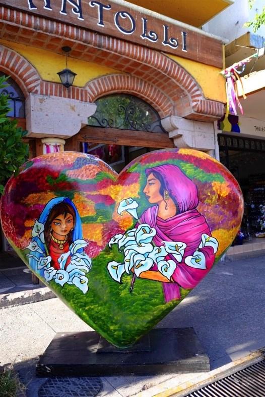 Coeur décoratif - Village de Tlaquepaque - Tout ça à Guadalajara - Destination, Amérique du Nord, Mexique