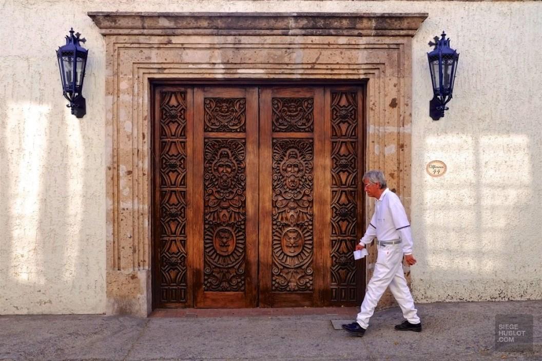 Porte en bois - Guadalajara, Mexique - Tout ça à Guadalajara - Destination, Amérique du Nord, Mexique