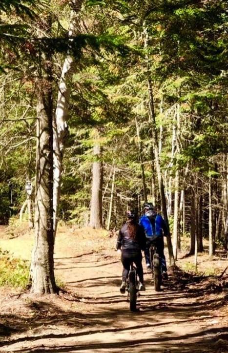 Balade en fatbike - Auberge du Lac Taureau - Amérique du Nord, Canada, Québec, Lanaudière, À haire, Hôtels, Roadtrip
