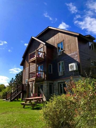 Chalet - Auberge du Lac Taureau -Amérique du Nord, Canada, Québec, Lanaudière, À haire, Hôtels, Roadtrip