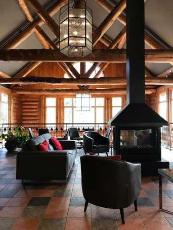 Réception - Auberge du Lac Taureau - Amérique du Nord, Canada, Québec, Lanaudière, À haire, Hôtels, Roadtrip