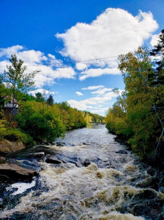 La rivière Matawin - Auberge du Lac Taureau - L'Auberge du Lac Taureau - Amérique du Nord, Canada, Québec, Lanaudière, À haire, Hôtels, Roadtrip