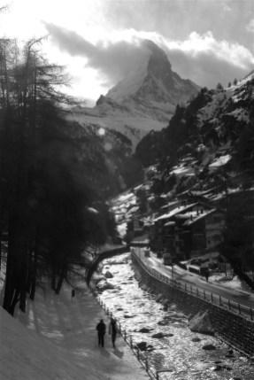 Le Matterhorn en hiver - Zermatt, Valais - Zermatt, la quintessence de la Suisse - Europe, Suisse