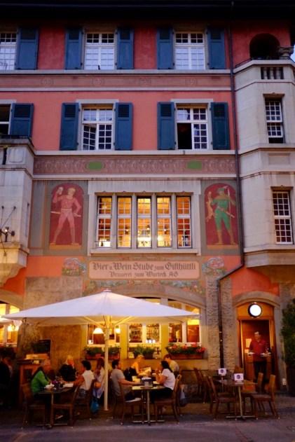 Terrasse du Gifthüttli - Quartier historique et monuments importants - Bâle, une ville au coeur de trois pays - Destination, Europe, Suisse