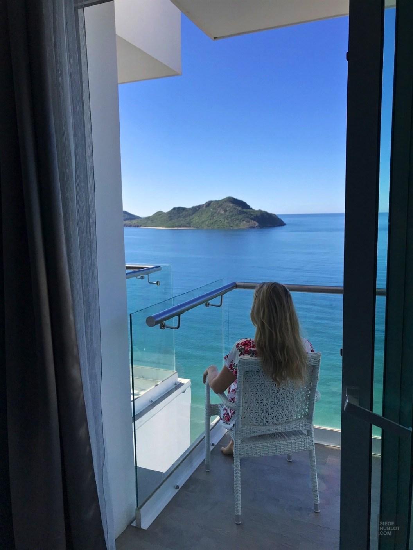 Balcon avec vue - Les chambres - Boutique hôtel à Mazatlan - Amérique du Nord, Mexique