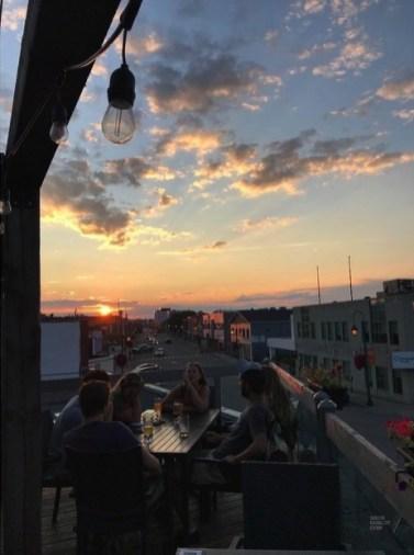 Belle vue sur la 3e avenue - La Vallée-de-l'Or - Une virée en Abitibi-Témiscamingue - Amérique du Nord, Canada, Québec