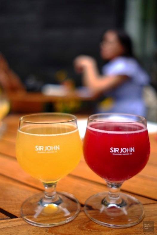 Bières - Brasserie Sir John Brewing co. - Une journée dans les Basses-Laurentides - Amérique du Nord, Canada, Québec, Laurentides