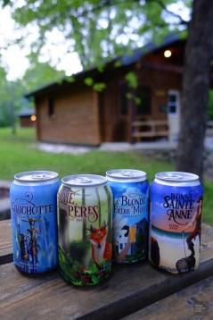 Bières - Mont-Brun et Nédélec - Une virée en Abitibi-Témiscamingue - Amérique du Nord, Canada, Québec