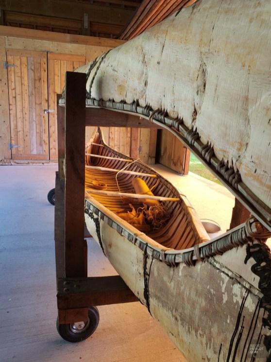Canots d'écorce - Ville-Marie et Duhamel-Ouest - Une virée en Abitibi-Témiscamingue - Amérique du Nord, Canada, Québec