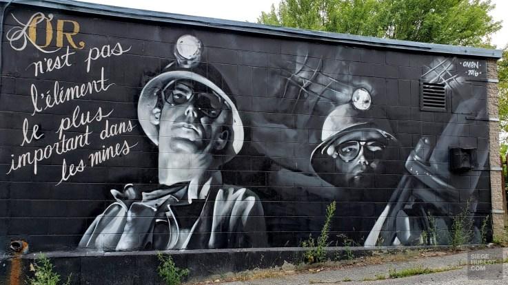 Dans la ruelle - La Vallée-de-l'Or - Une virée en Abitibi-Témiscamingue - Amérique du Nord, Canada, Québec