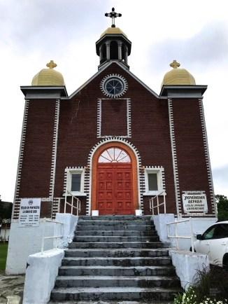 Église ukrainienne - La Vallée-de-l'Or - Une virée en Abitibi-Témiscamingue - Amérique du Nord, Canada, Québec