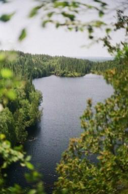 Magnifique vue - Mont-Brun et Nédélec - Une virée en Abitibi-Témiscamingue - Amérique du Nord, Canada, Québec