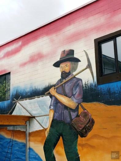 Murale - La Vallée-de-l'Or - Une virée en Abitibi-Témiscamingue - Amérique du Nord, Canada, Québec
