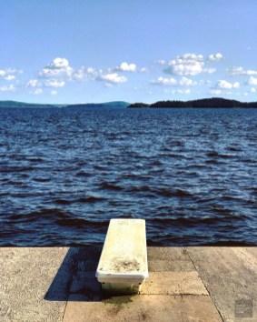 Plage privée - Ville-Marie et Duhamel-Ouest - Une virée en Abitibi-Témiscamingue - Amérique du Nord, Canada, Québec