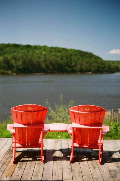 Prendre une pause - Ville-Marie et Duhamel-Ouest - Une virée en Abitibi-Témiscamingue - Amérique du Nord, Canada, Québec