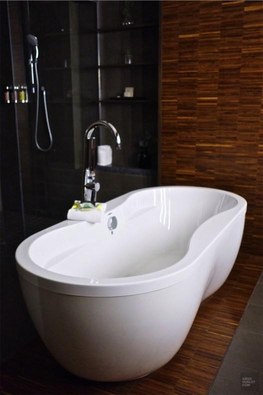 Salle de bain - Les chambres et suites - L'hôtel 71 dans le Vieux-Québec - Québec, Canada