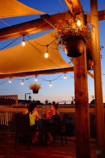 Terrasse sur le toit - La Vallée-de-l'Or - Une virée en Abitibi-Témiscamingue - Amérique du Nord, Canada, Québec