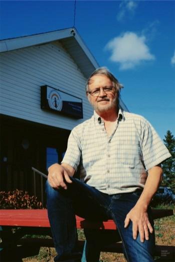 Gilles apiculteur - Hydromellerie Saint-Paul-de-la-Croix - Un épicurien à Rivière-du-Loup - Amérique du Nord, Canada, Québec, Bas St-Laurent
