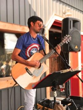 Le chansonnier - Le verger à Ti-Paul - Balade en Beauce - Amérique du Nord, Canada, Québec, Chaudière-Appalaches