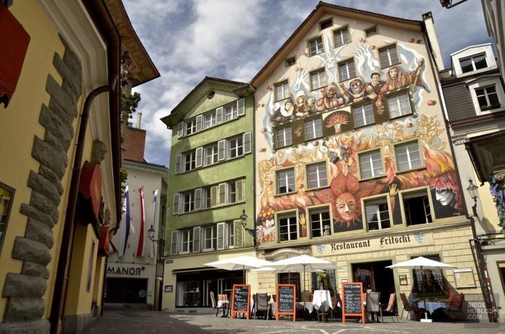 Lucerne - Un café à la Jura, l'excellence à la Suisse! - Europe, Suisse