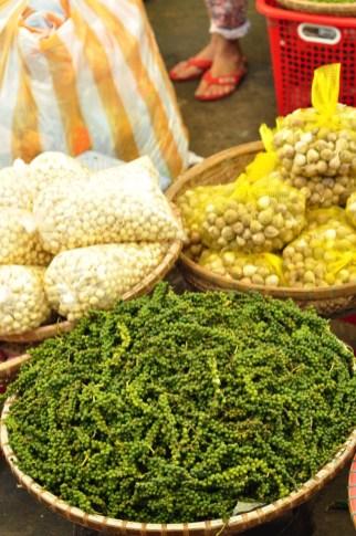Poivre frais et graines de lotus - Manger végé - Les meilleurs restaurants végétariens - Vietnam, Asie