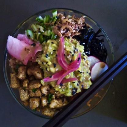 Poke bowl - Et plus encore! - Les meilleurs restaurants végétariens - Vietnam, Asie