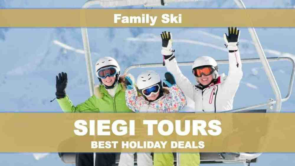 Siegi Tours Family Ski Holiday Support Program