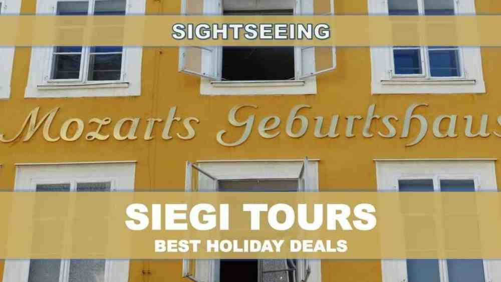 Mozart House Salzburg Sightseeing Siegi Tours
